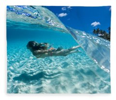 Aqua Dive Fleece Blanket