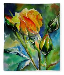 Aquarelle Fleece Blanket