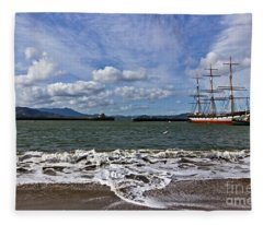 Aquatic Park Fleece Blanket