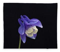 Aquilegia Flabellata -1 Fleece Blanket