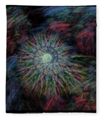 Arachne's Galaxy  Fleece Blanket