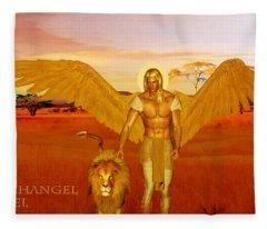 Archangel Ariel Fleece Blanket