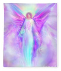 Archangel Raphael Fleece Blanket
