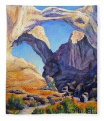 Arches View Fleece Blanket