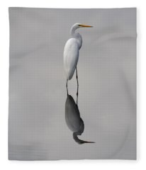 Argent Mirror Fleece Blanket