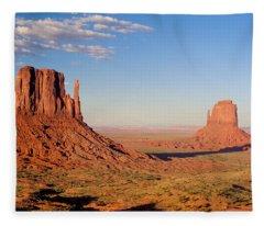 Arizona Monument Valley Fleece Blanket