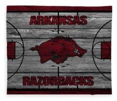 Arkansas Razorbacks Fleece Blanket
