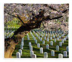 Arlington National Cemetary Fleece Blanket