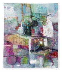 Art And Music Fleece Blanket