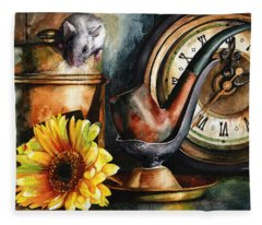 As Time Goes By Fleece Blanket