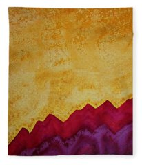 Ascension Original Painting Fleece Blanket