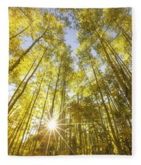 Aspen Day Dreams Fleece Blanket