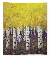 Aspens Fleece Blanket