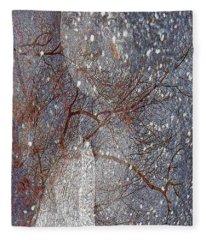 Asphalt - Portrait Of A Lady Fleece Blanket