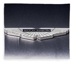 Aston Martin Badge Fleece Blanket