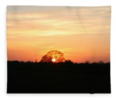 Aston Sunset Fleece Blanket