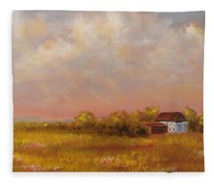 August Afternoon Pa Fleece Blanket