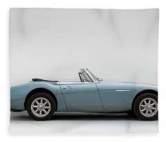 Austin Healey 3000 Mkiii Fleece Blanket