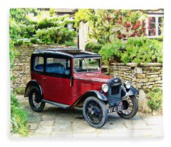 Austin Seven Fleece Blanket