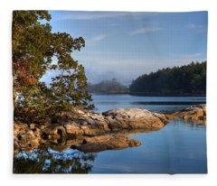 Autumn Afternoon Fleece Blanket