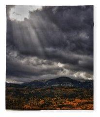 Autumn Beams Fleece Blanket