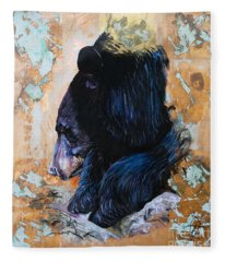 Autumn Bear Fleece Blanket
