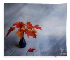Autumn Colors Fleece Blanket