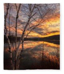 Autumn Dawn Fleece Blanket