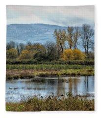 Autumn Haven Fleece Blanket