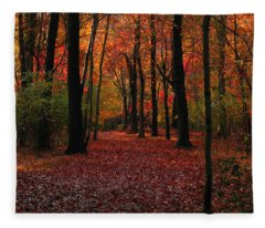 Autumn IIi Fleece Blanket