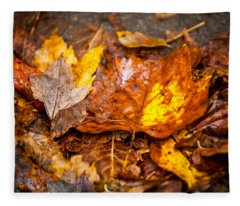 Autumn Pile Fleece Blanket