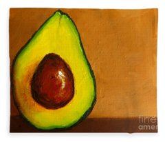 Avocado Palta Vi Fleece Blanket