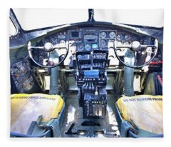 B-17 Front Office Fleece Blanket