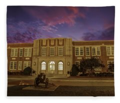 B C H S At Dusk Fleece Blanket