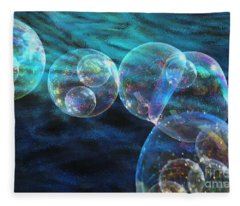 Baby Bubbles Fleece Blanket