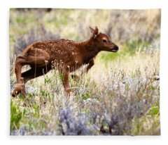 Baby Elk Fleece Blanket