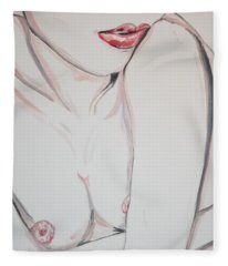 Baby I M A Want You Fleece Blanket