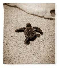 Baby Sea Turtle Fleece Blanket