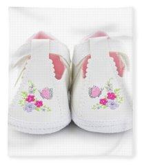 Baby Shoes Fleece Blanket