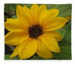 Baby Sunflower Fleece Blanket