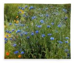 Bachelor's Meadow Fleece Blanket