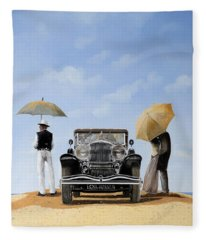 Baci Nel Deserto Fleece Blanket