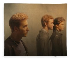 Back Stage With Nsync Fleece Blanket