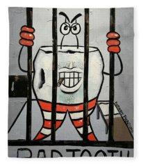Bad Tooth Fleece Blanket