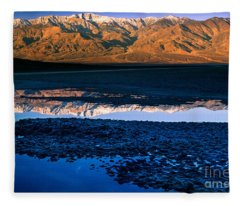 Badwater Fleece Blanket