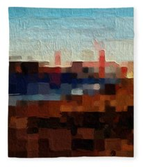 Baker Beach Fleece Blanket