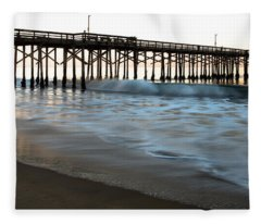 Balboa Pier  Fleece Blanket