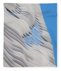 Balconies Fleece Blanket