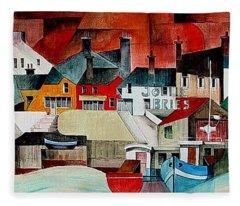 Baltimore Panorama West Cork Fleece Blanket
