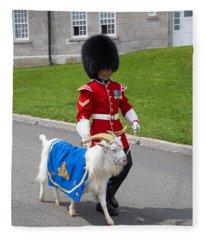 Baptiste The Goat Fleece Blanket